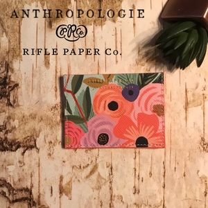 Anthropologie + Rifle Paper Co Card Holder
